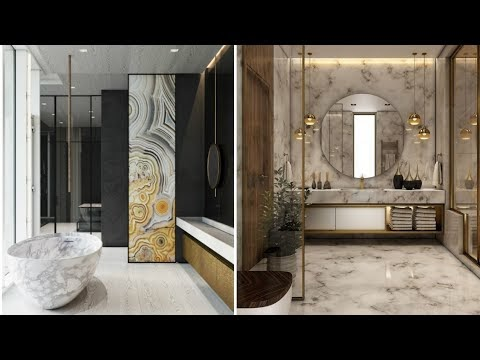 Modern Bathroom modular design ideas 2020   Luxurious large master bathrooms