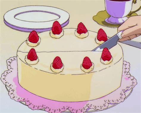 cake anime  kawaii image animated food anime