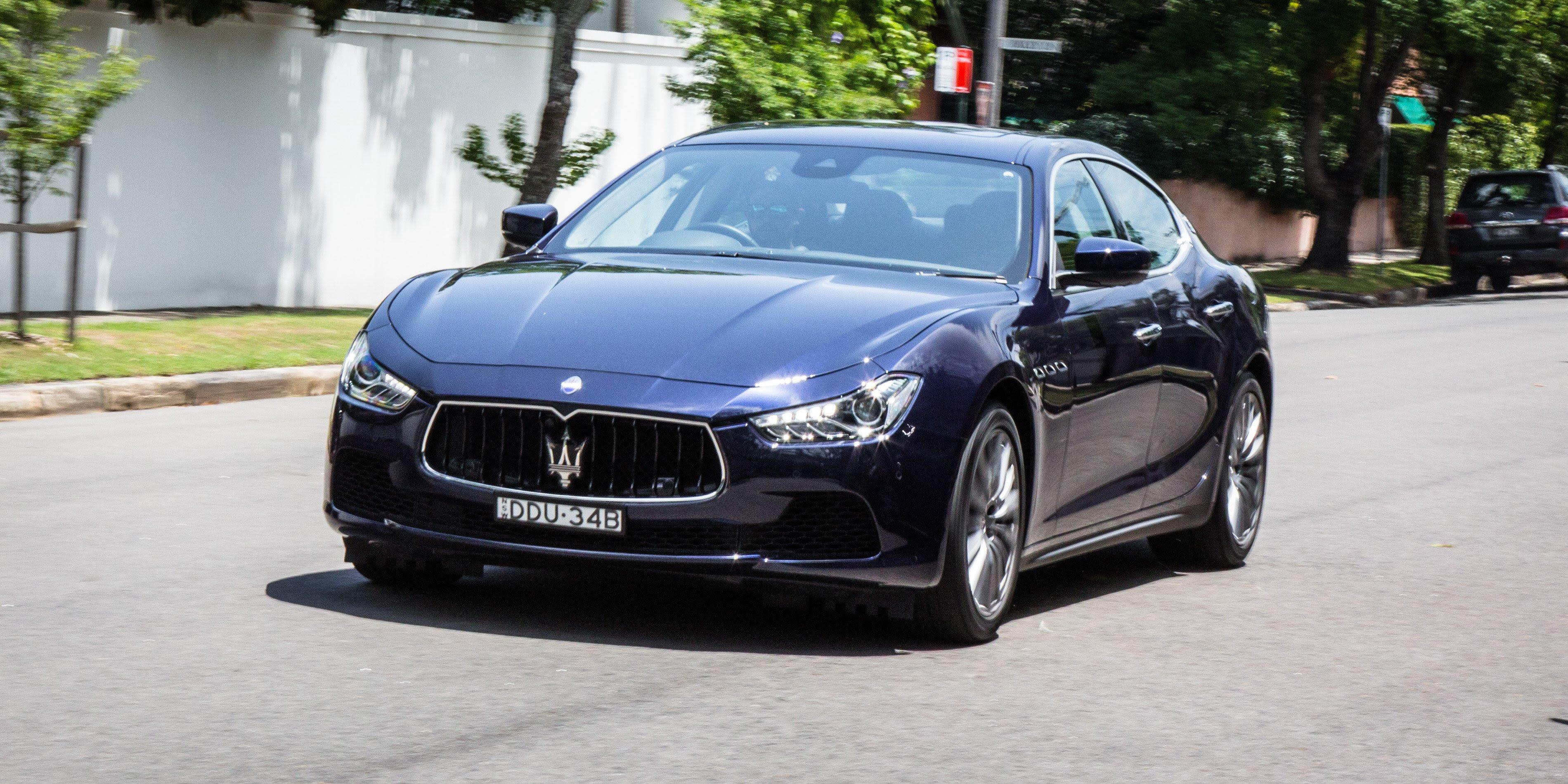 2017 Maserati Ghibli review  CarAdvice