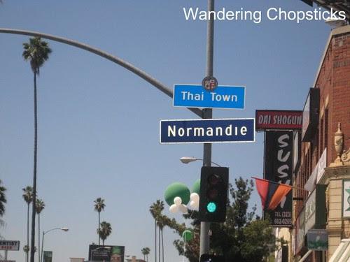 Songkran (Thai New Year) Festival - Los Angeles (Thai Town) 1