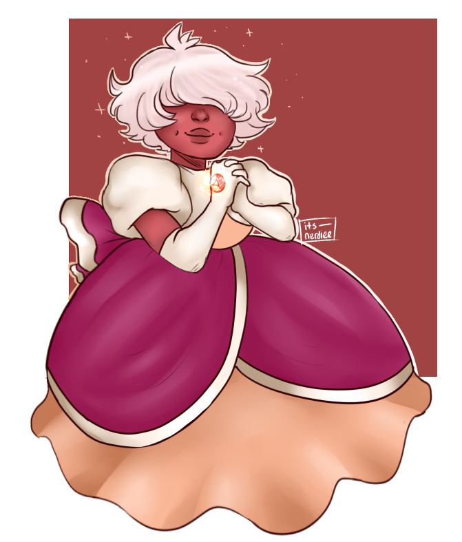 Padparadscha Sapphire as per a request! Speedpaint: Here !