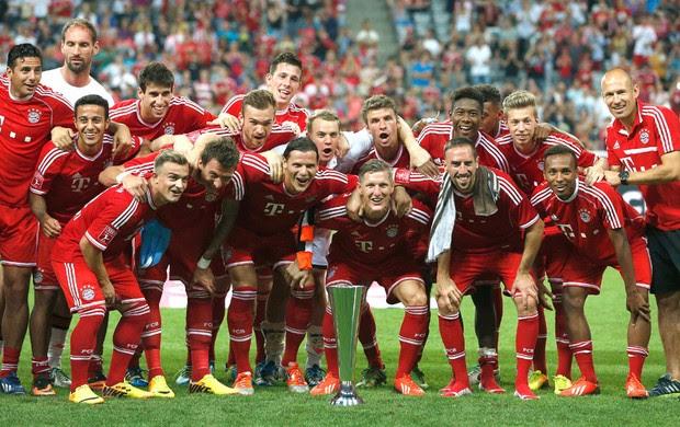 Bayern de Munique campeão Copa Audi (Foto: Agência AP)