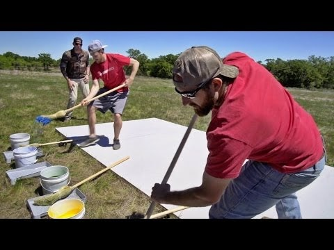 Giant Pictionary Team Battle Dude Perfect Online