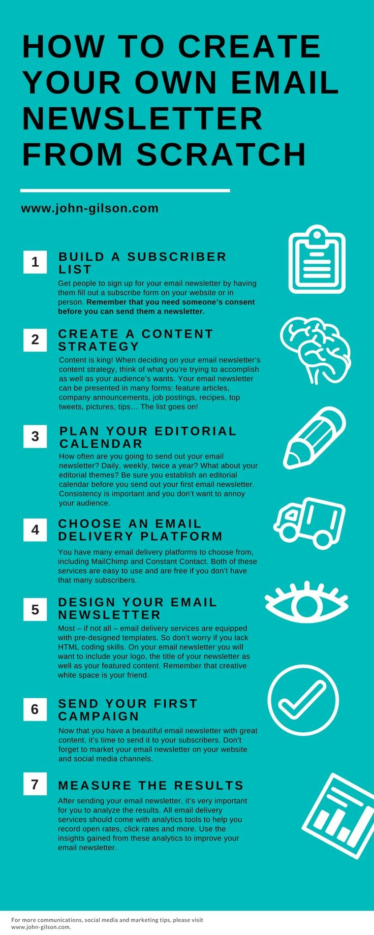 How to Create Your Own Email Newsletter from Scratch