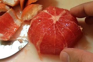 Ruby Reds - Peeled grapefruit