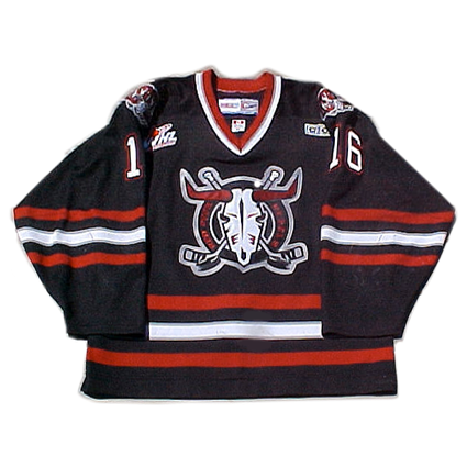 Red Deer Rebels 00-01 jersey