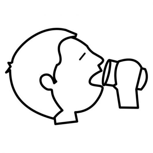 Colorear Bebiendo Vaso De Agua Colorear Dibujos De Cholo