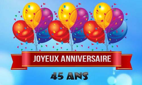 foto de Carte D'anniversaire Pour Homme De 45 Ans Carte fiolazoezoey site