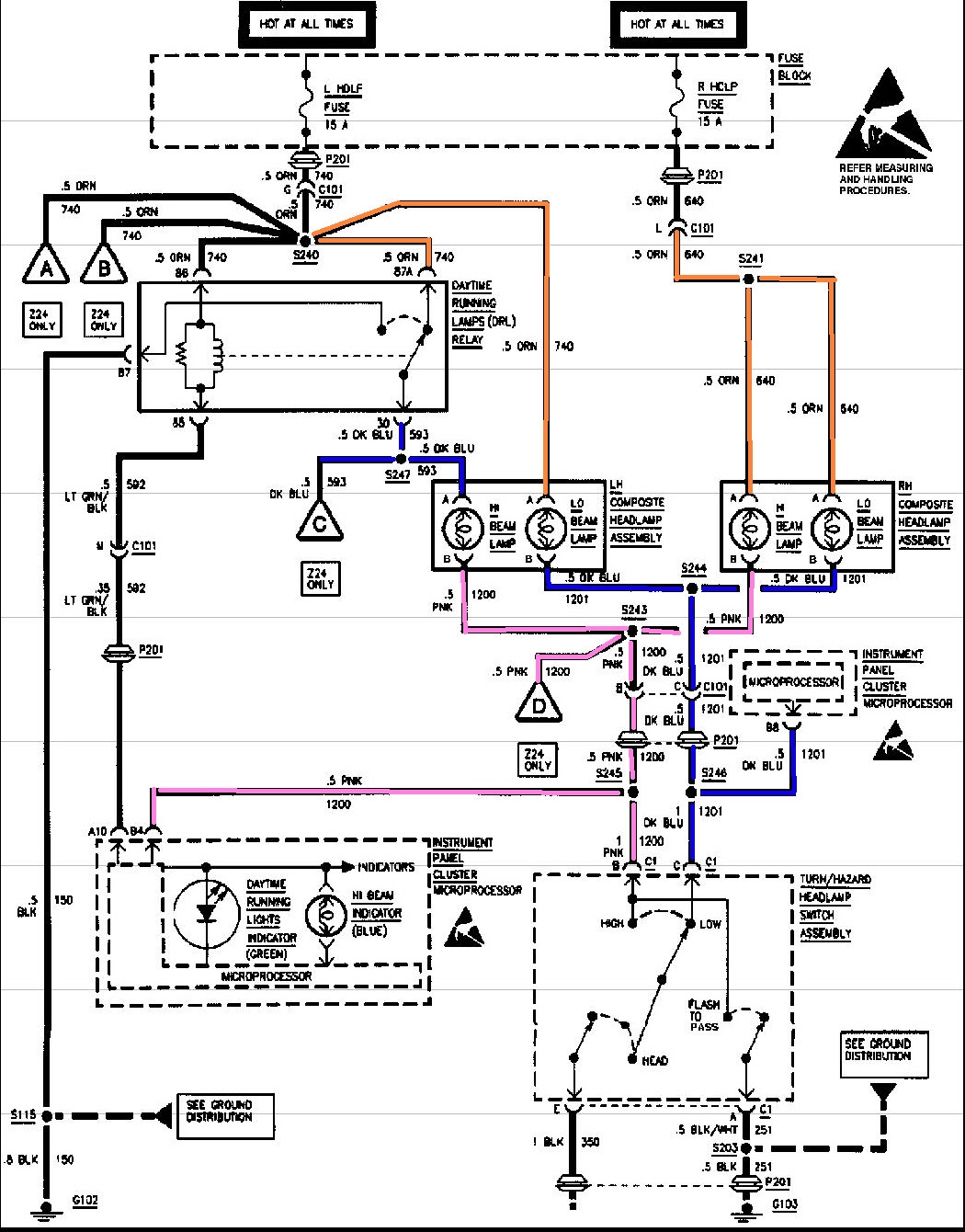 I need a electrical wiring diagram for a 1997 cavalier. I ...