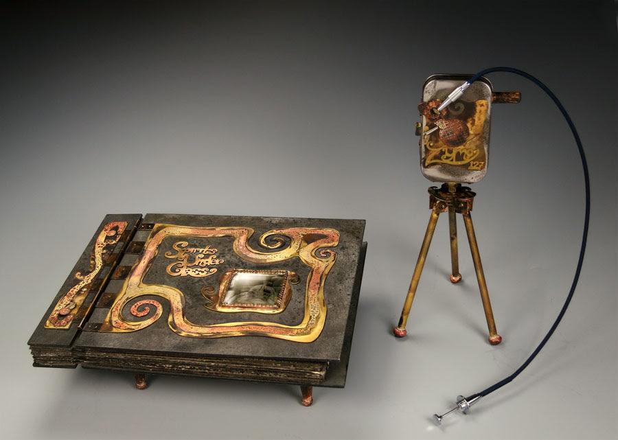 Zymo 127 pinhole camera, built to take photos in the Zymoglyphic Museum