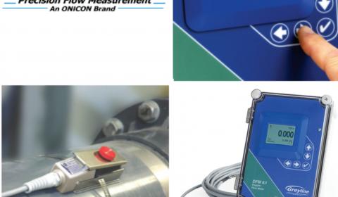 Greyline DFM 6.1 - Doppler Ultrasonic Flow Meter