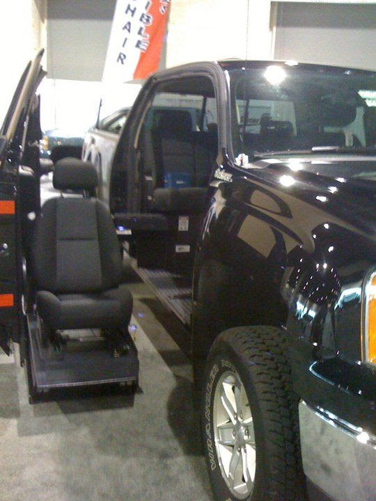 Goshichis Wheelchair Lift Solutions For Pickup Trucks
