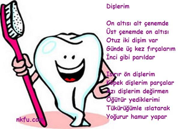 Ağız Ve Diş Sağlığı Ile Ilgili şiirler