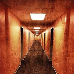Hellish hallway.