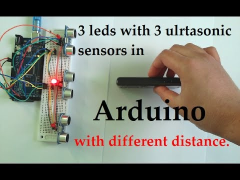 Multiple Ultrasonic Sensor Arduino with code « Amazing Tips247