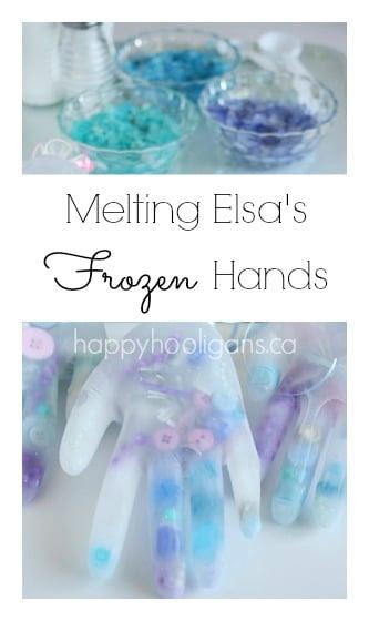 Melting Elsa''s Frozen Hands from Happy Hooligans