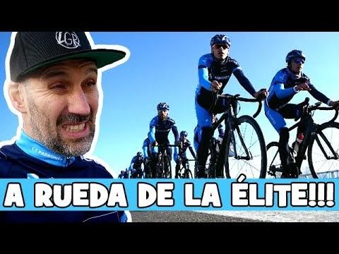 A RUEDA DE LA ÉLITE!... entrenando con el EQUIPO CORTIZO 2020! - Alfonso Blanco