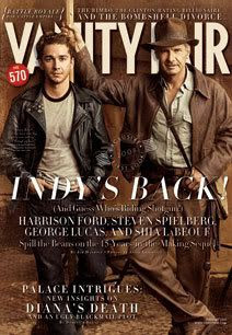 The February 2008 cover of VANITY FAIR magazine.