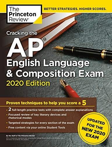 *!!* Prenota Cracking the AP English Language and Composition Exam 2020 Pdf