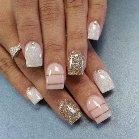 DIY Nail Art Without any Tools for beginners - Fashion 2D