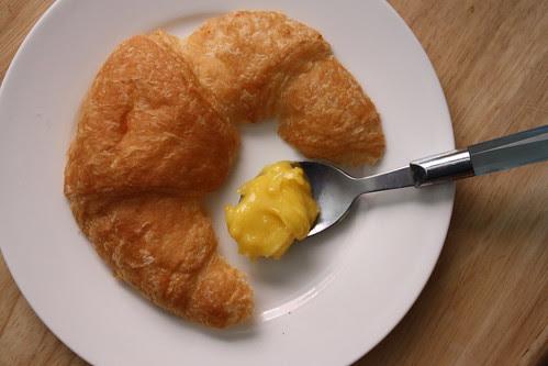 Lemon Curd & Croissants