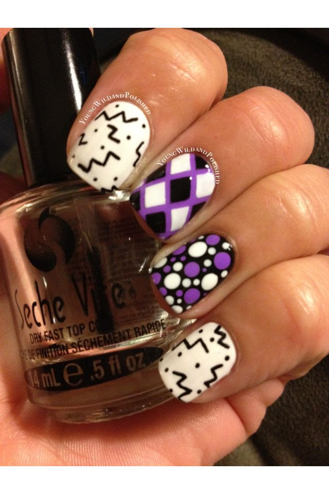 Young Wild and Polished: Caution....Nail Art Overload