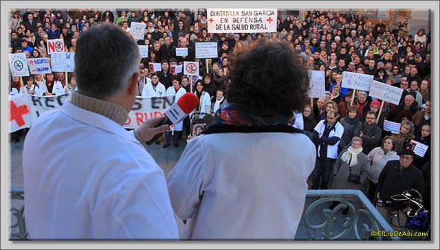 5 Manifestación contra recortes Sanidad Rural