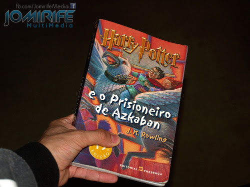 Livro Harry Potter e o Prisioneiro de Azkaban [en] Book Harry Potter and the Prisoner of Azkaban