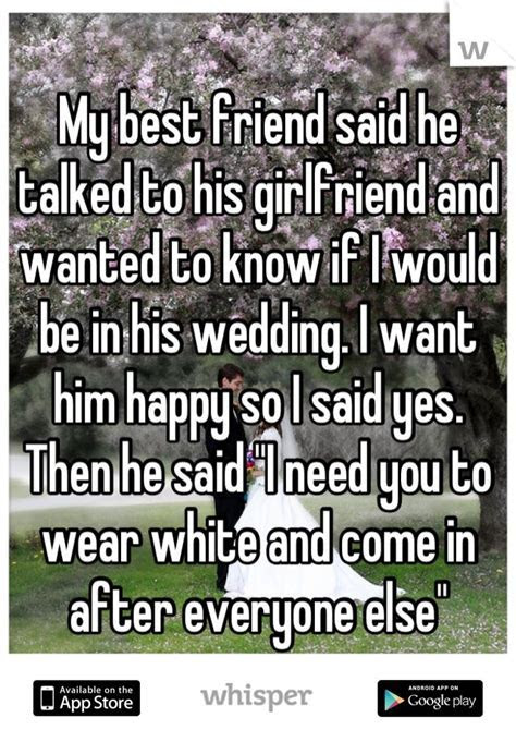 My best friend said he talked to his girlfriend and wanted