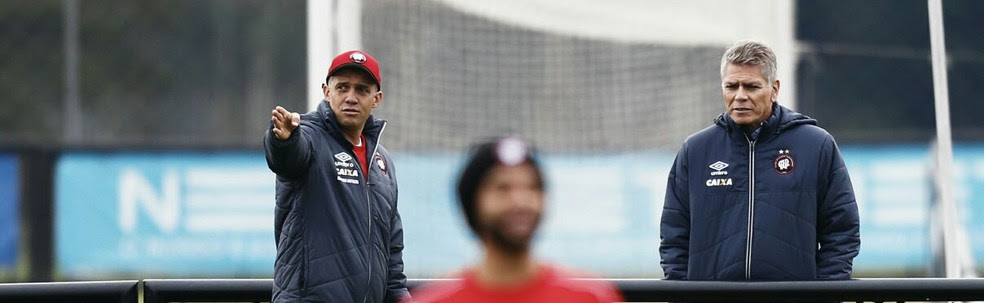 Eduardo Baptista e Paulo Autuori não fazem mais parte do Atlético-PR (Foto: Jonathan Campos/Gazeta do Povo)