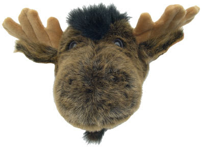 Wall-mount moose head for the 'Great Outdoors' look