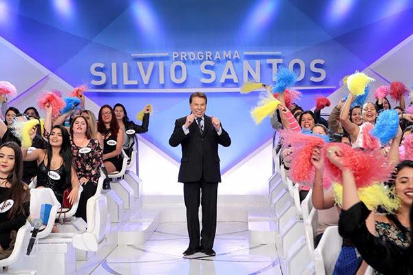 Silvio Santos anima a plateia