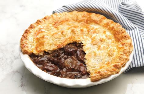Steak and mushroom pie | Tesco Real Food