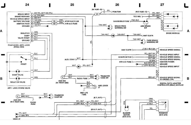 Speed Sensor 1993 Chevy Wiring Diagram