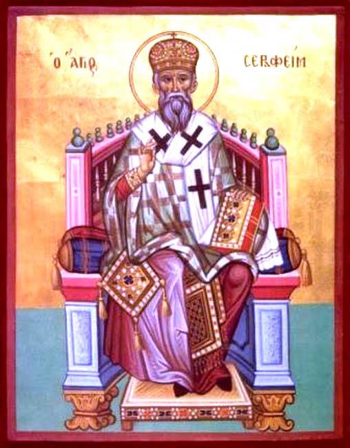 IMG ST. SERAPHIM, Bishop of Phanarion and Neochorion