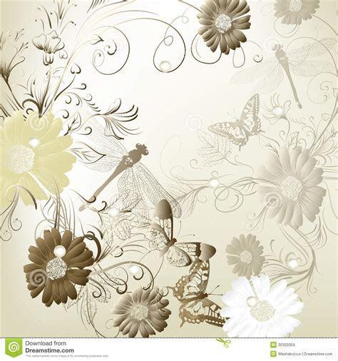 Elegant Wedding Invitation Card For Your Design Stock