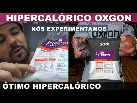 HIPERCALÓRICO OXGON OTIMO HIPERCALÓRICO BRASILEIRO PARA GANHAR PESO E MÚSCULOS