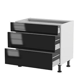Pas cher atelier du menuisier meuble cuisine bas 90cm for Meuble cuisine pas cher en ligne
