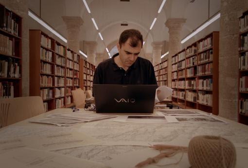 óscar Beltrán, en los archivos