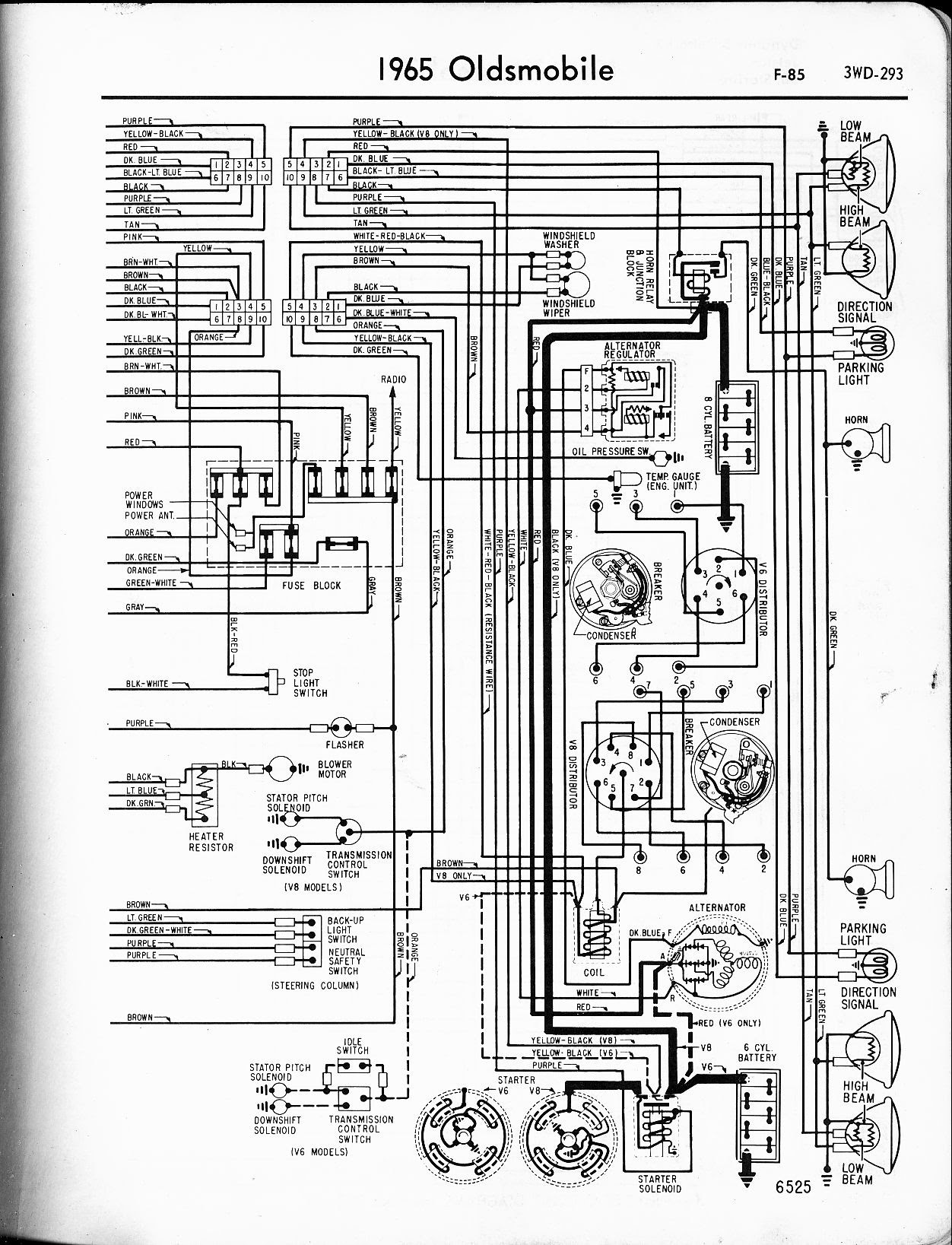 1996 Oldsmobile Cutlas Supreme Wiring Diagram