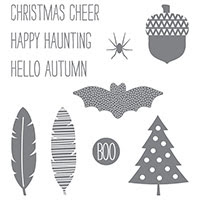 Cheer All Year Photopolymer Stamp Set by Stampin' Up!