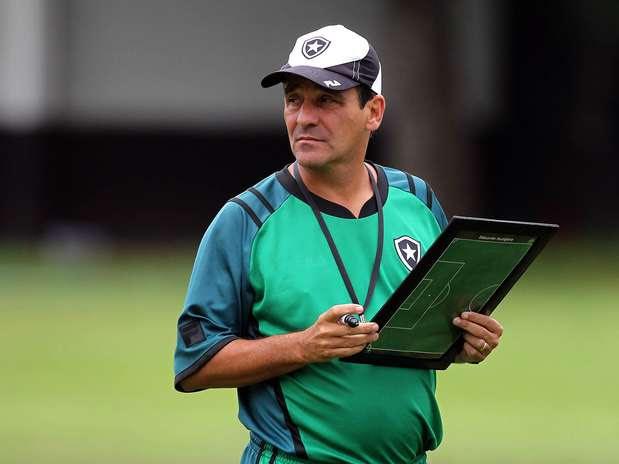 Técnico Eduardo Hungaro comandará o atual campeão Botafogo Foto: Satiro Sodré/Agif/Botafogo / Divulgação