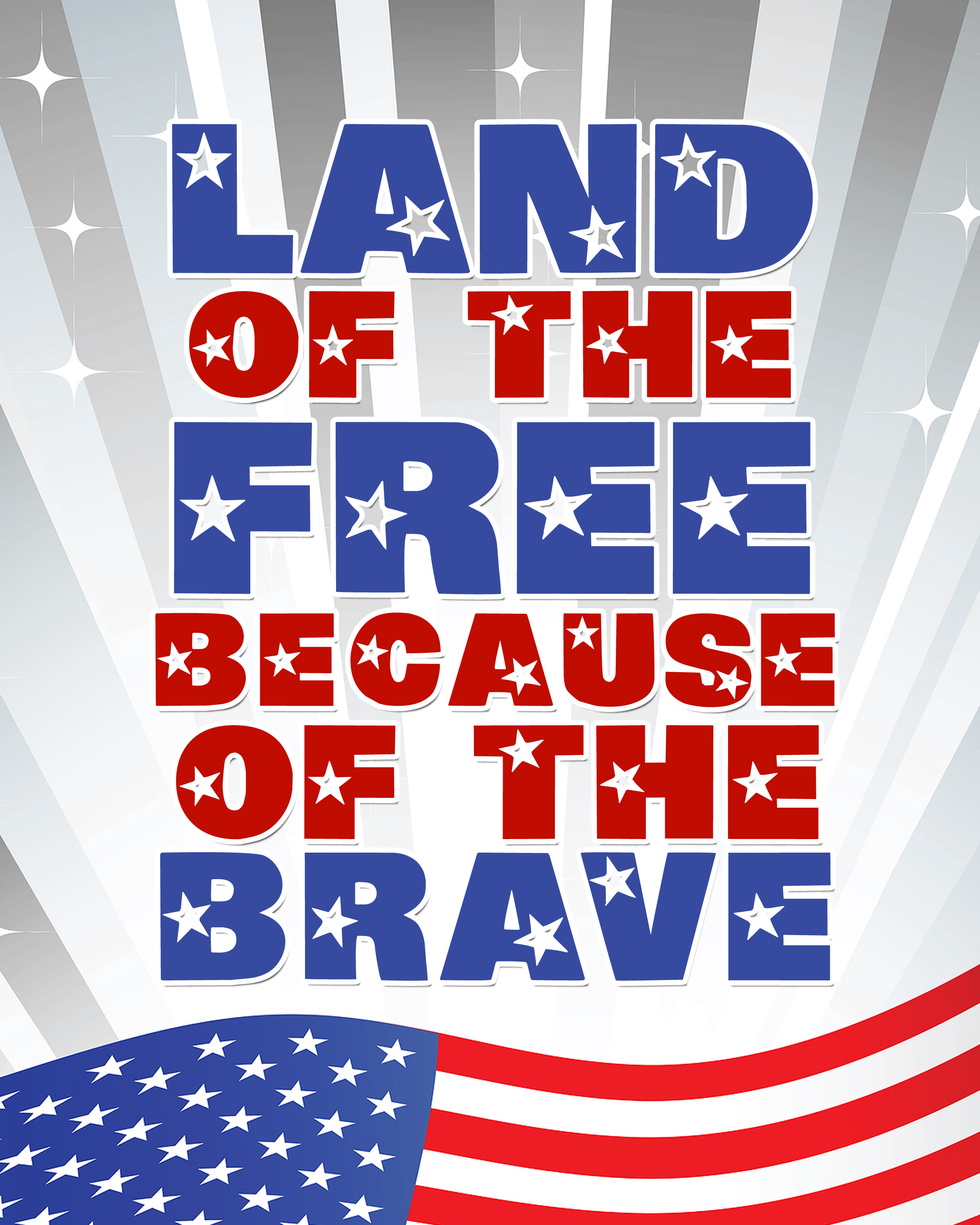 Land Of The Free Because Of The Brave Archives Reach Your Peak