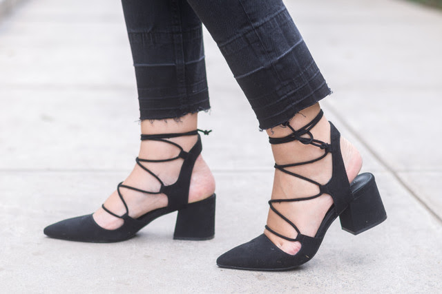 zapatos lace up