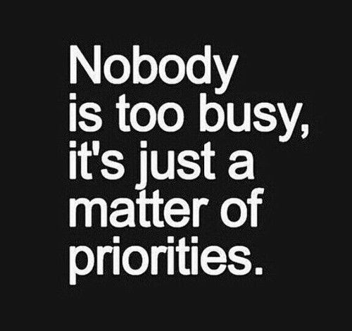A Matter Of Priorities Pictures Photos And Images For Facebook
