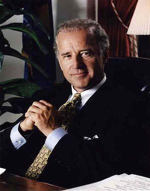 Joe Biden, U.S. Senator from Delaware.