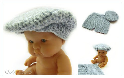 Newborn Flat Cap and Pants