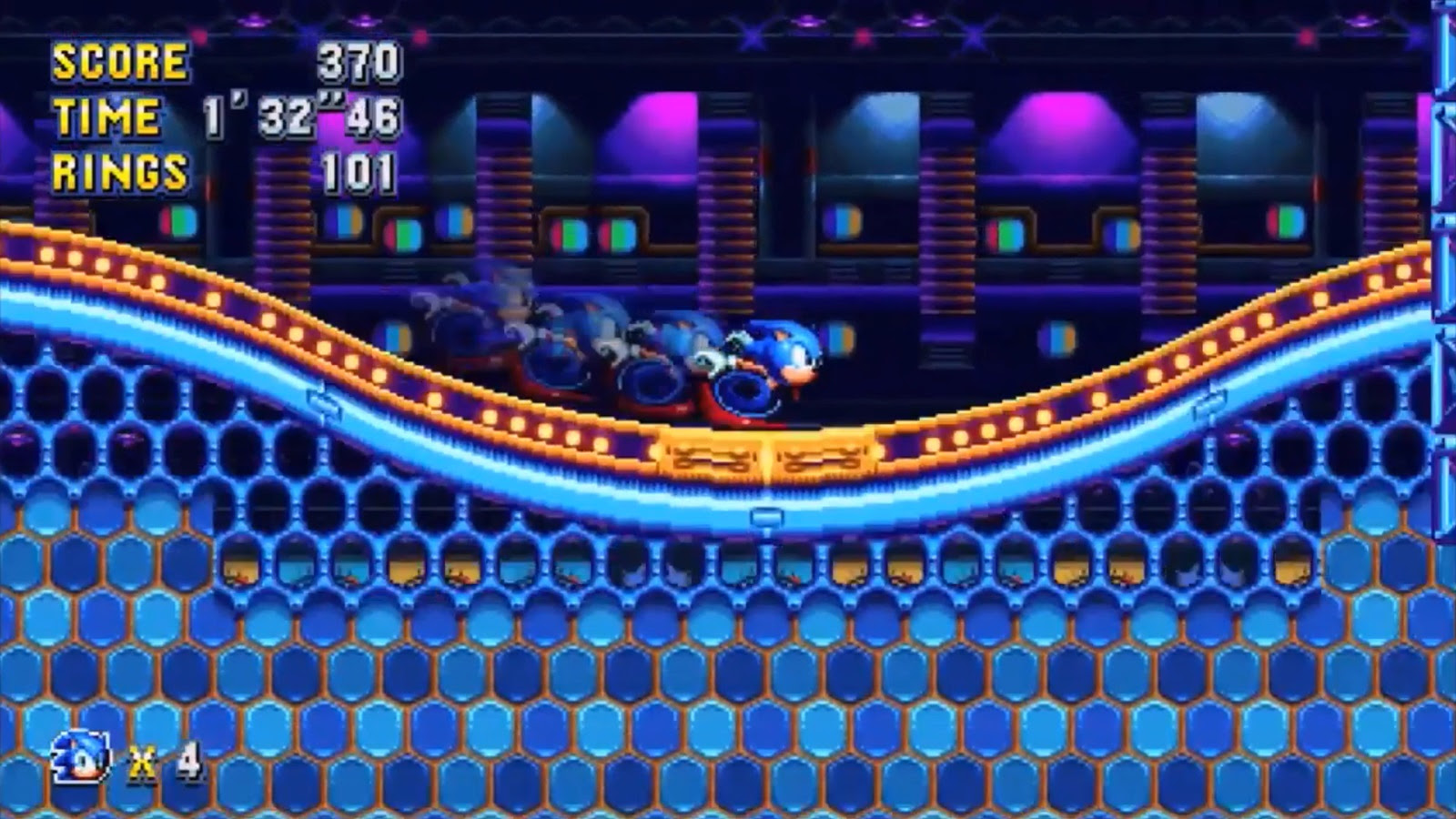 Kick off your weekend with this Sonic Mania jam screenshot