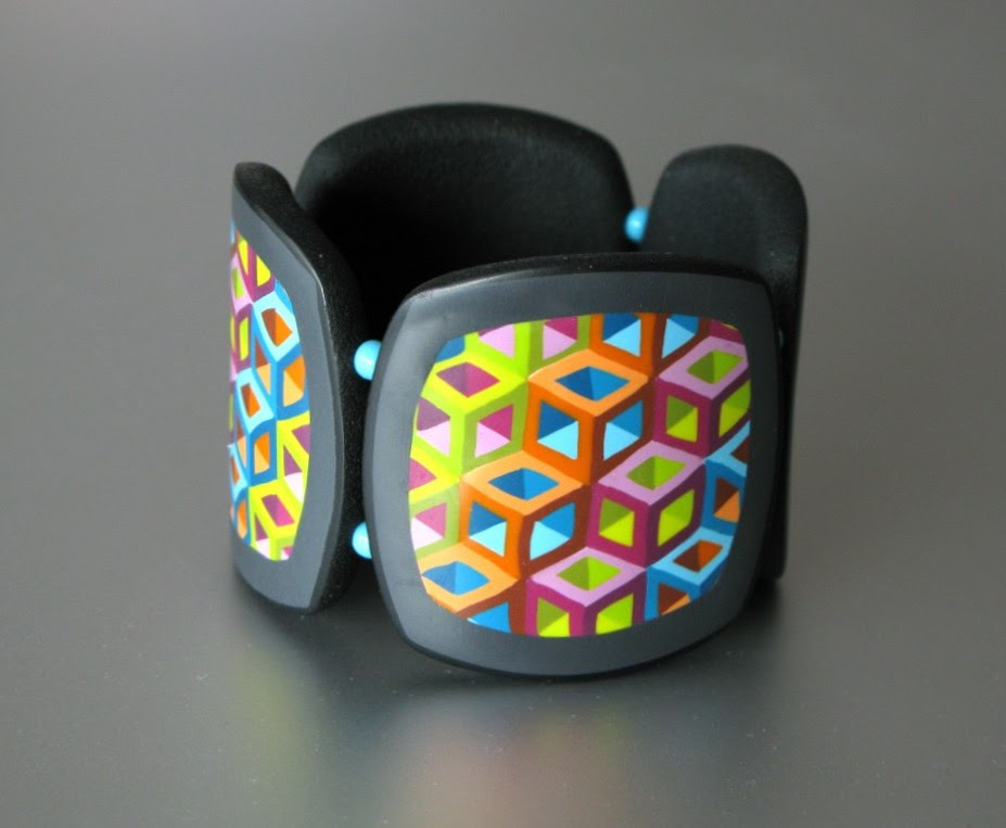 Bracelet Hollow Cubes