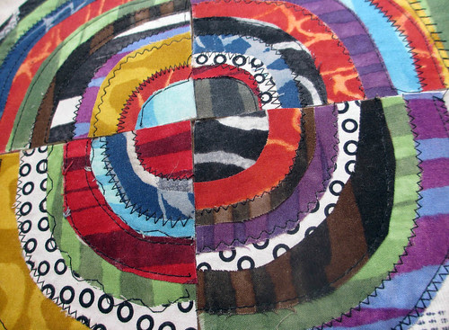 Recycled Circles in progress